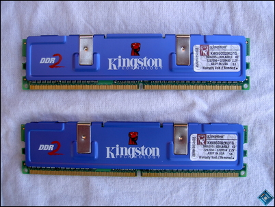 Kingston HyperX PC2-8500 Back