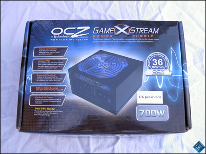 OCZ GameXStream 700w Front