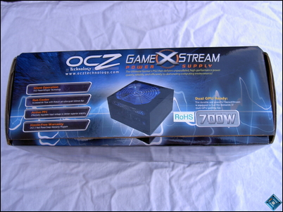 OCZ GameXStream 700w Top