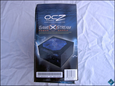 OCZ GameXStream 700w Side