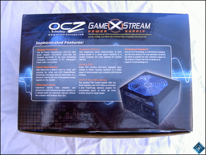 OCZ GameXStream 700w Back
