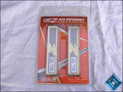 OCZ Gold PC2-8800 XTC Packaging