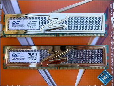 OCZ Gold PC2-8800 XTC Front