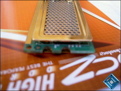 OCZ Gold PC2-8800 XTC Side