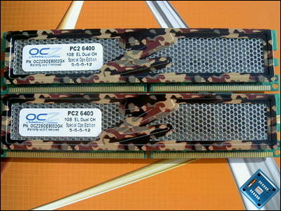 OCZ PC2-6400 Special Ops Front