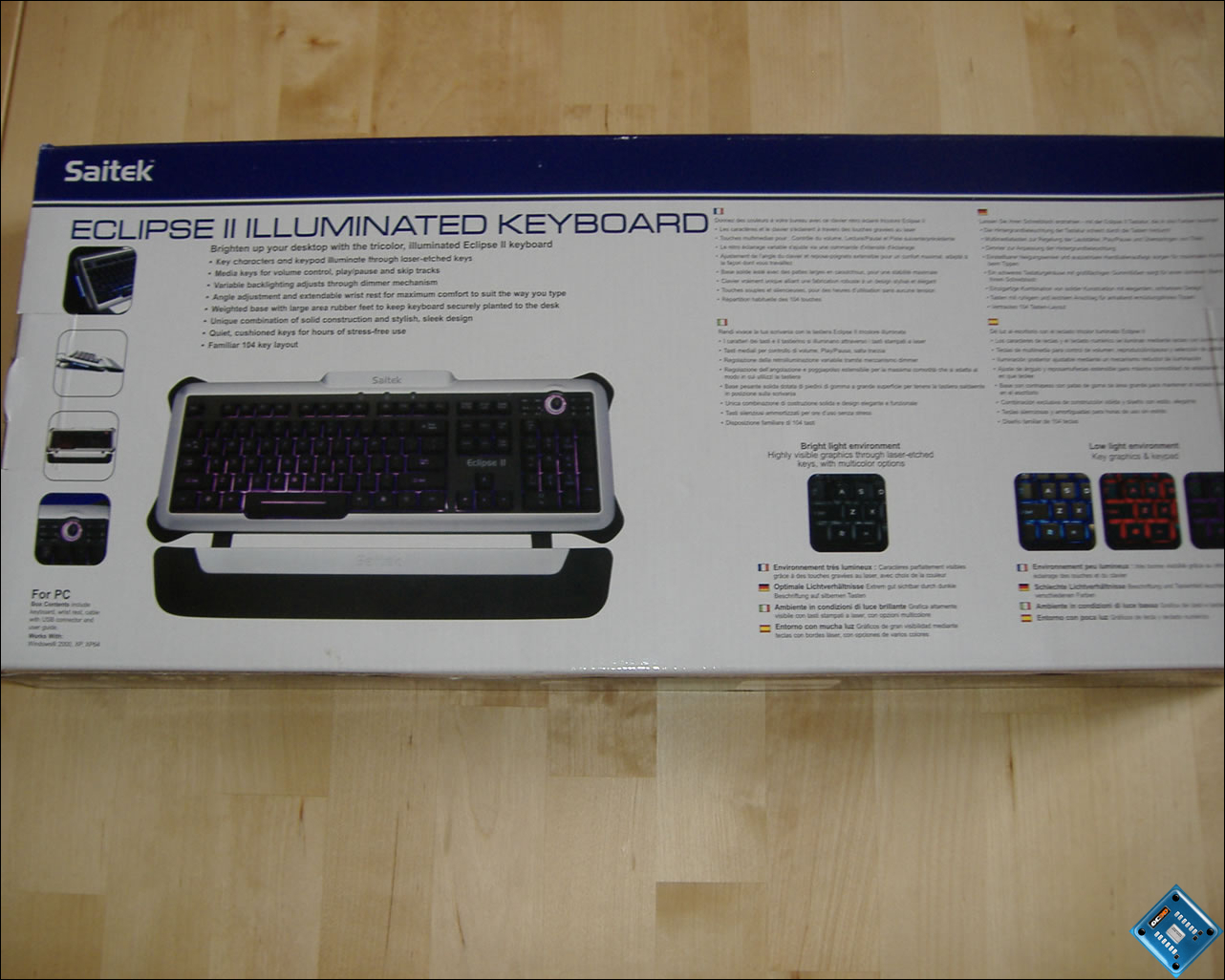 Saitek Eclipse II Illumintated Keyboard Review - Keyboards - CNET ...