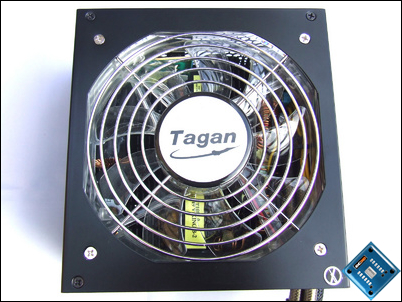 Tagan Easycon XL 700w Bottom