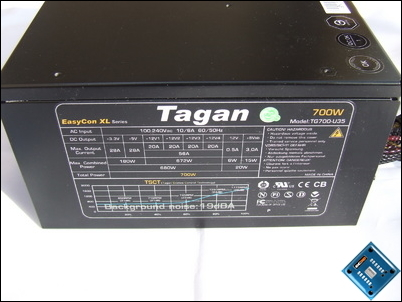 Tagan Easycon XL 700w Side