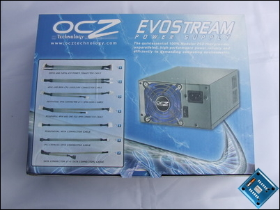OCZ ModStream 600w Packaging