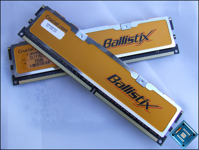 Crucial Ballistix PC2-6400 Back