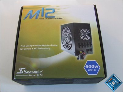 Seasonic M12 600w Packaging