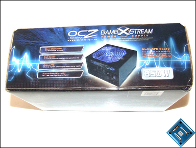 OCZ GameXStream 850w Box Front
