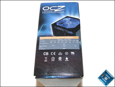 OCZ GameXStream 850w Box Side