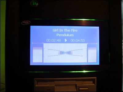 Winamp display