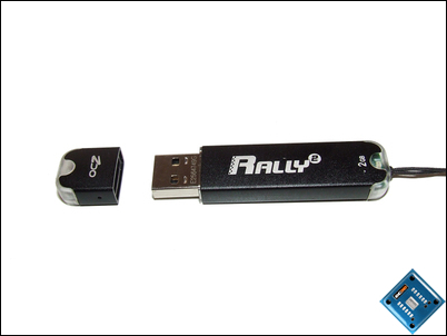 OCZ Rally2 Flash Drive Open