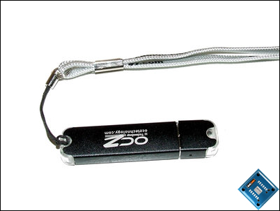 OCZ Rally2 Flash Drive Back