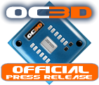 OC3D Official Press Logo