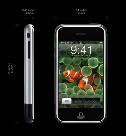The Apple iPhone Dimensions