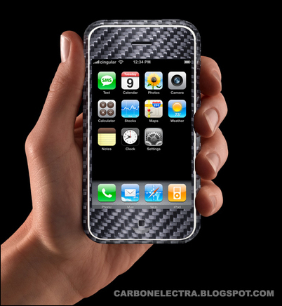 iPhone Carbon Fiber Mock-up