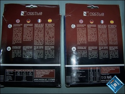 Back of packaging