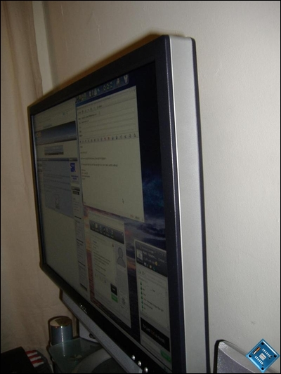 Dell 2405 viewing angle