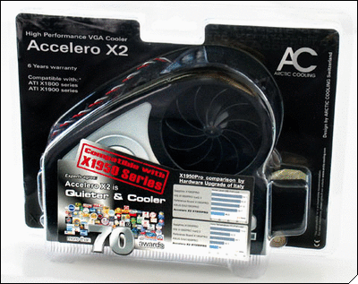 Accelero X2 package
