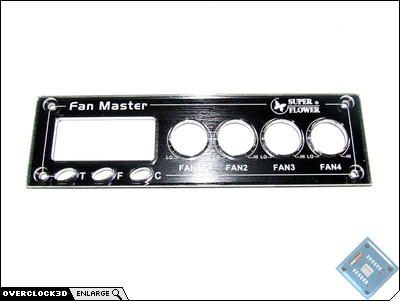 Super Flower SF-609 Face Plate