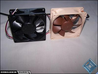 Scythe/Noctua 80mm comparison