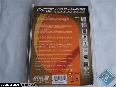 OCZ Titanium rear of pack