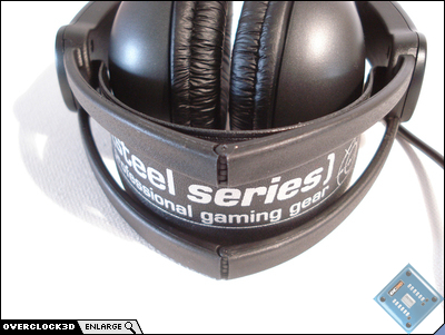 Headset when folded