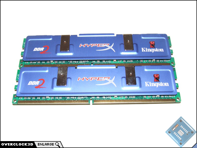 Kingston HyperX PC2-9600 Back