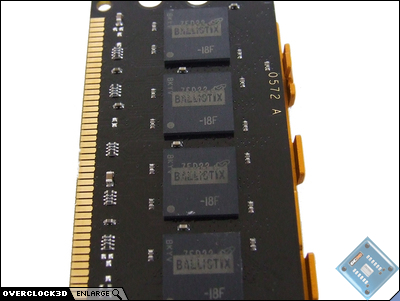 Crucial Ballistix PC2-8500 DDR2 IC's