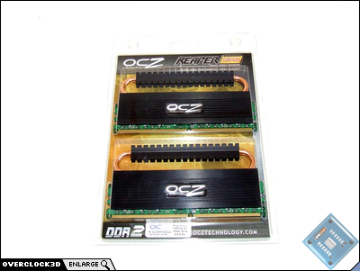 OCZ Reaper HPC PC2-8500 Packaging