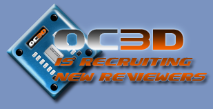OC3D Is Recruiting