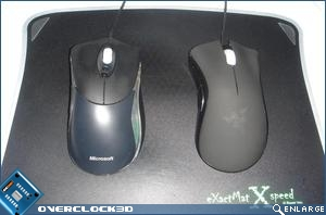 Razer Deathadder and Habu