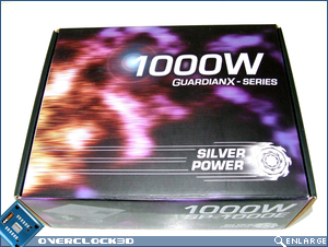 Silver Power GuardianX 1000w Box