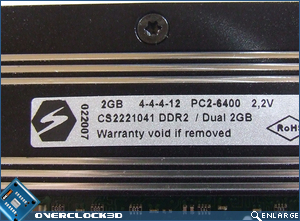 CellShock DDR2-800 Specs