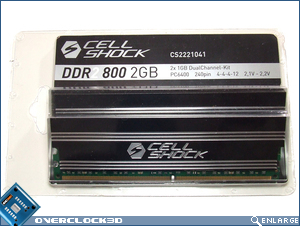 CellShock DDR2-800 Packaging