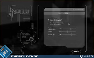 cell factor settings 2