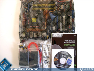 Asusk P5K Deluxe Package