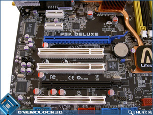 Asus P5K Deluxe Expansion