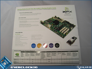 xfx 650i ultra packaging rear