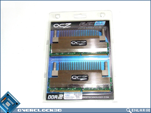 OCZ FlexXLC PC2-9200 Packaging
