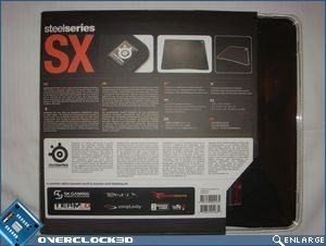 SteelSeries SX Packaging Back