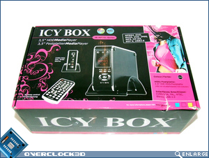 Icy Box IB-MP301 Packaging