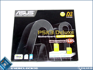 Asus P5K3 Deluxe Packaging
