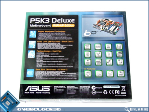Asus P5K3 Deluxe Plackaging