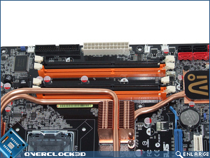 Asus P5K3 Deluxe DDR3 Slots