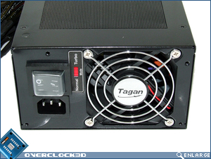 Tagan 2-Force II 700w Back