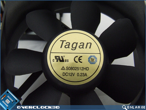 Tagan 2-Force II 700w Fan